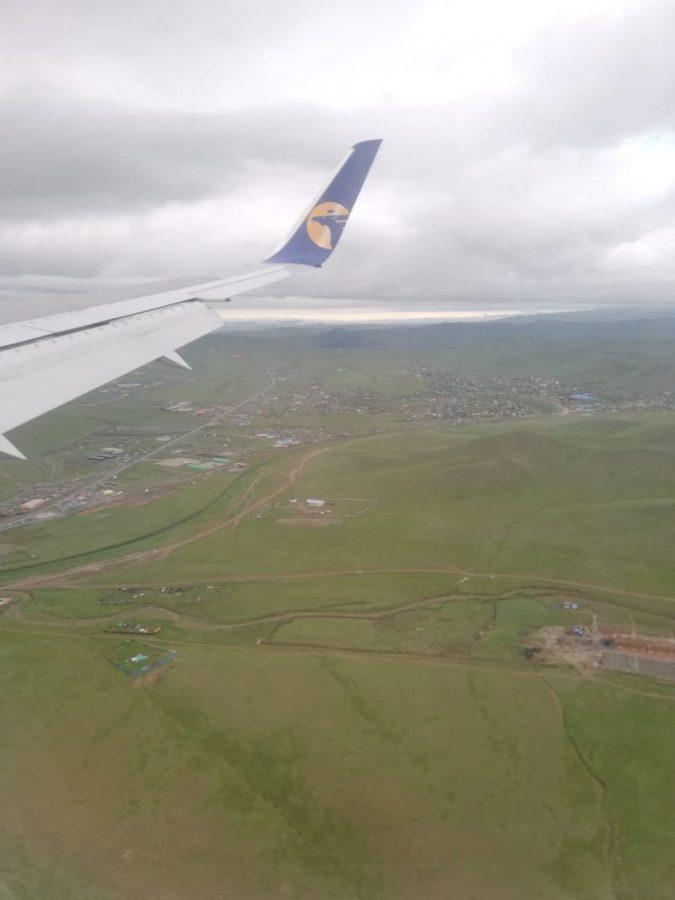 チンギスハーン国際空港 ラウンジ